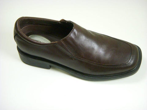 Reaction By Kenneth Cole 5196 Leather Boy's Shoe - Loafer - Chocolate Boys Shoes Heritage House