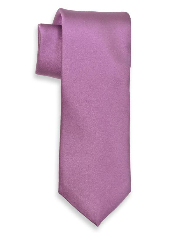 Heritage House 6625 100% Silk Boy's Tie - Solid - Purple Boys Tie Heritage House