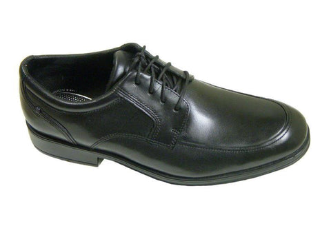 Rockport 6862 100% leather Boy's dress shoe - Oxford - Black, Lace-up Boys Shoes Rockport