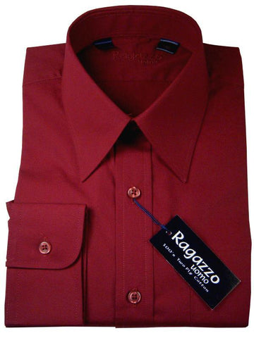 Boy's Dress Shirt 7441 Port Boys Dress Shirt Ragazzo