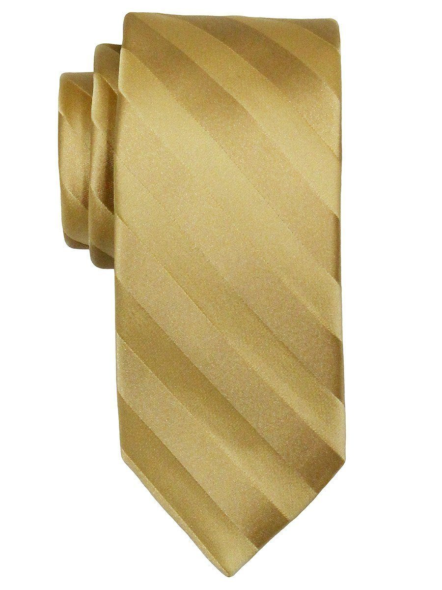 Heritage House 7560 100% Woven Silk Boy's Tie - Tonal Stripe - Gold Boys Tie Heritage House
