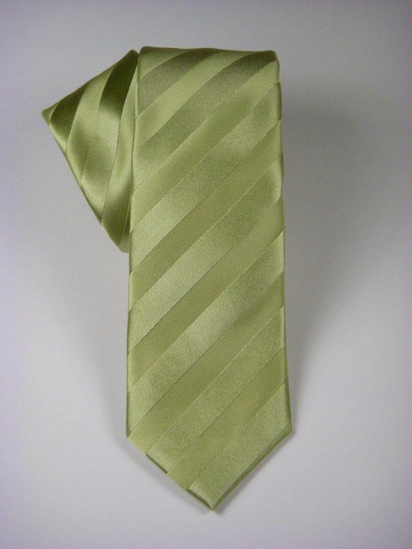 Heritage House 7562 100% Woven Silk Boy's Tie - Tonal Stripe - Green(16) Boys Tie Heritage House