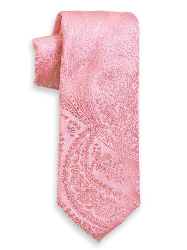 Heritage House 8272 100% Woven Silk Boy's Tie - Paisley - Pink Boys Tie Heritage House