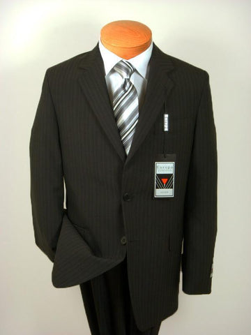 Image of Boy's Suit 8341 Black Stripe from Boys Suit Europa