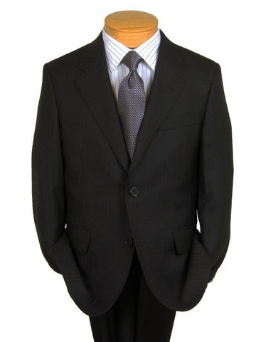 Image of Boy's Suit 9367 Black Tonal Stripe from Boys Suit Heritage House