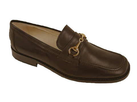 Shoe Be Doo 9656 Leather Boy's Shoe - Loafer - Brown Boys Shoes Shoe Be Doo