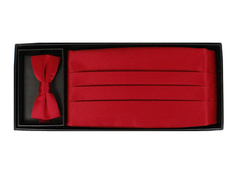 Cummerbund Set 9776 Red Boys Cummerbund Set Giorgio Bissoni