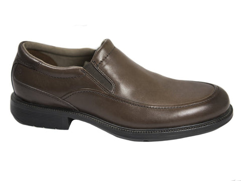 Rockport 9825 100% Leather Boy's Shoe - Slip-On - Brown Boys Shoes Rockport