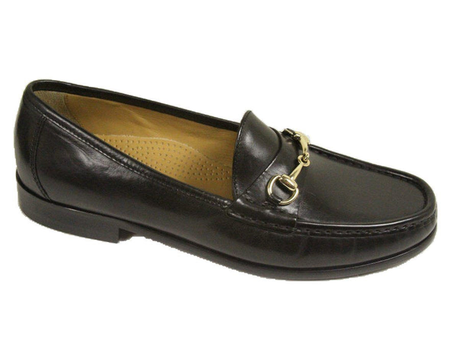 Cole Haan 9932 100% Leather Boy's Shoe - Bit Loafer - Black Boys Shoes Cole Haan