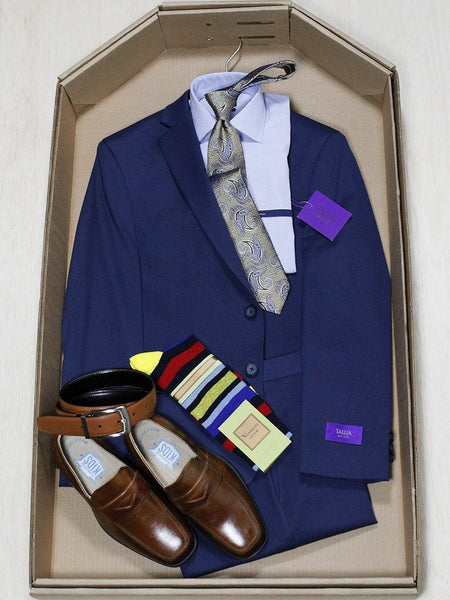 Complete Blue Suit Outfit 22996