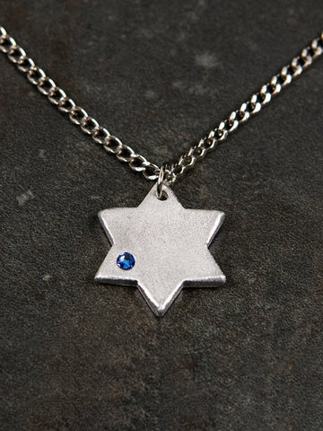 Iron Dome Star Necklace Boys Necklace The Israel Boutique