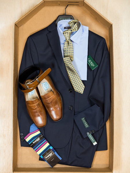 Complete Navy Suit Outfit 24953