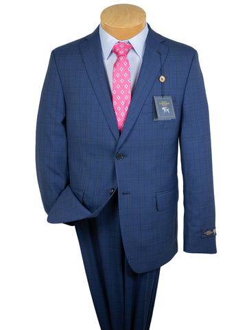 Image of Hart Schaffner Marx 30866 - Boy's Suit - Plaid - Blue
