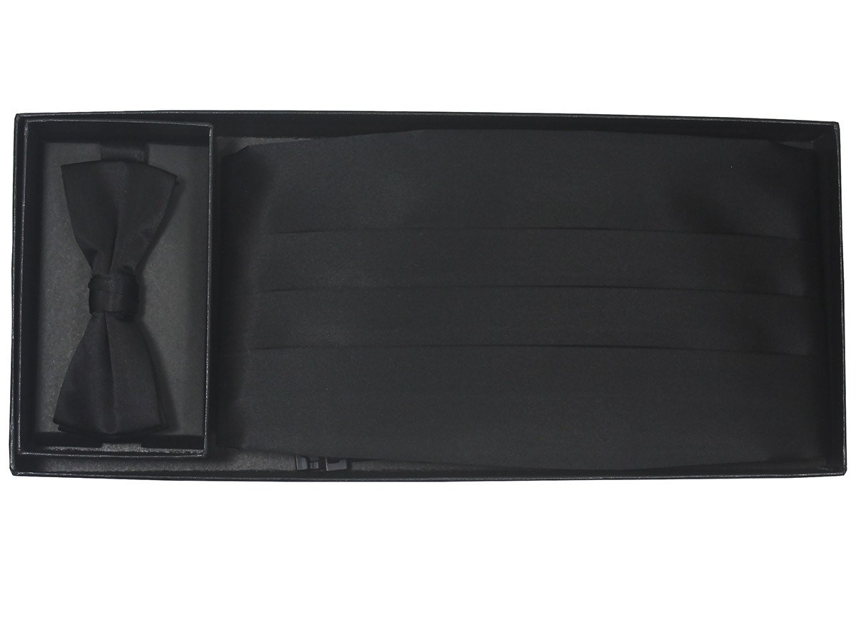 Boy's Cummerbund Set 20218 Black