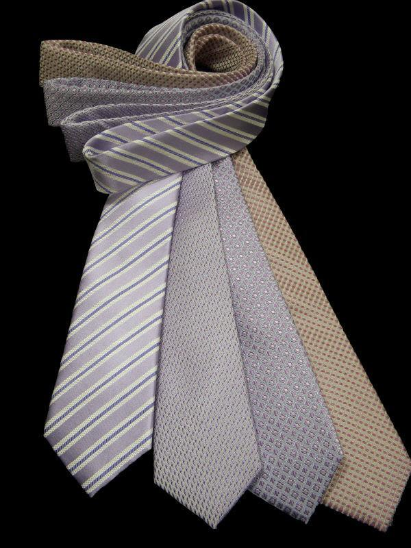 Heritage House 10715 100% Woven Silk Boy's Tie - Assorted Neat - Pastel Purples/Pinks Boys Tie Urbano
