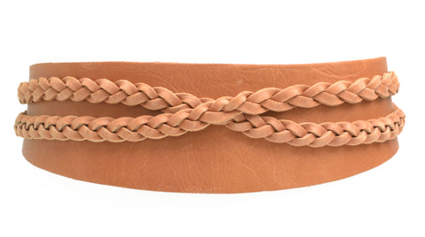 Wrap Belt - Pastel Papaya