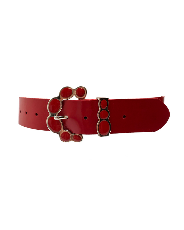 Harlow - Patent Red