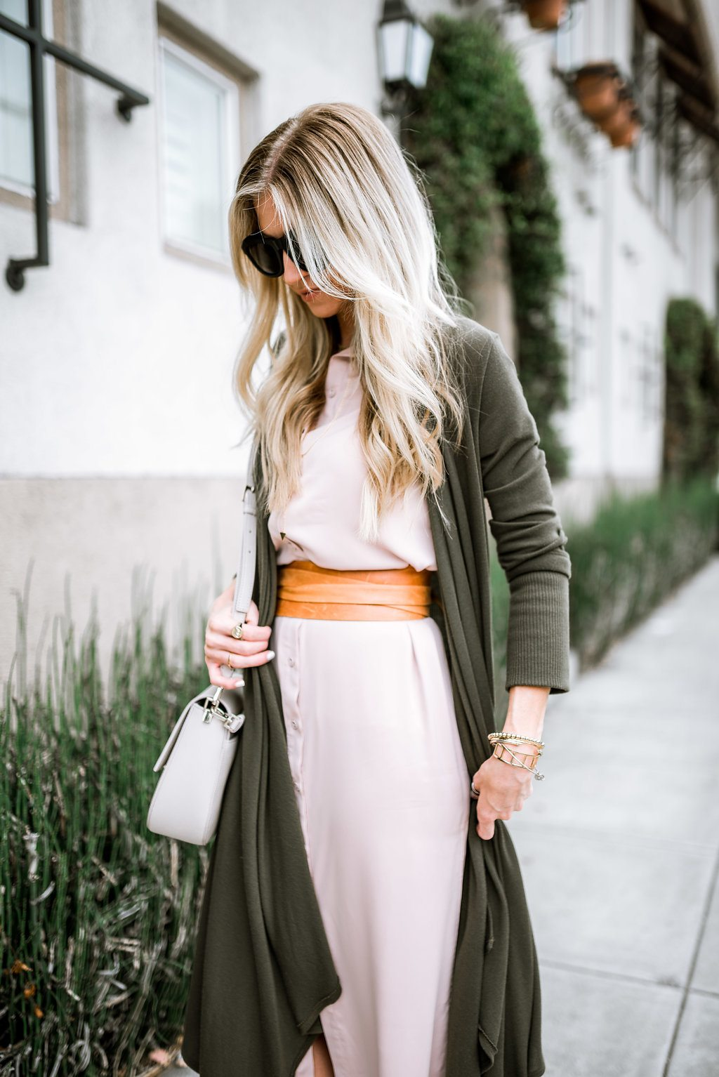 Wrap Belt - Taupe