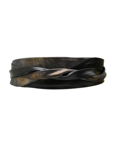 Minnie Wrap Belt - Black/Midnight