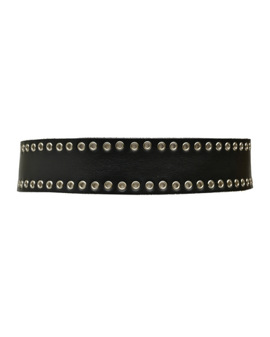 Skinny Stud Wrap -  Black