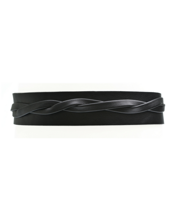 Olive Wrap Belt - Black