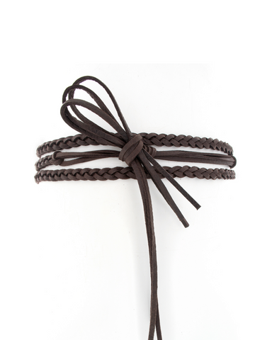Selmi Belt - Chocolate