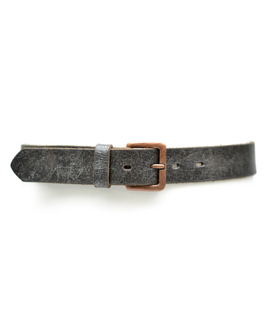 Wrap Belt - Silver Metallic Grid