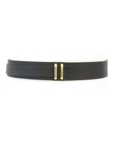 Skinny Wrap Belt - Midnight