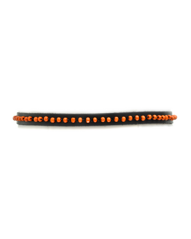 Tonya - Black/Orange