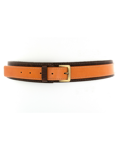 Victoria Belt - Rustic Chocolate Orange