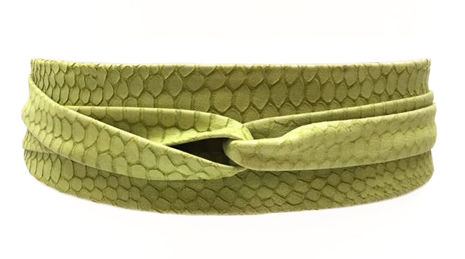 Wrap Belt - Chartreuse