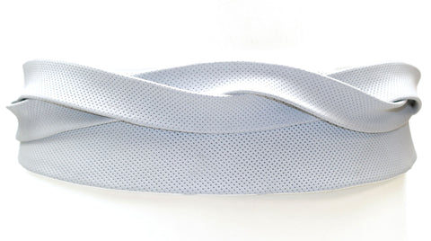 Wrap Belt - Perforated White