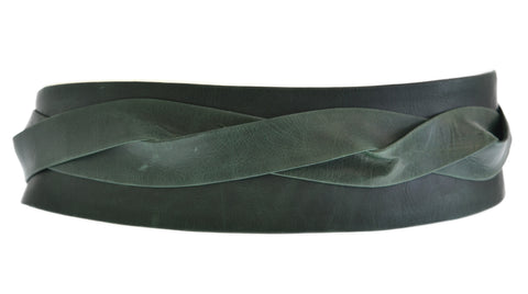 Wrap Belt - Forest Green