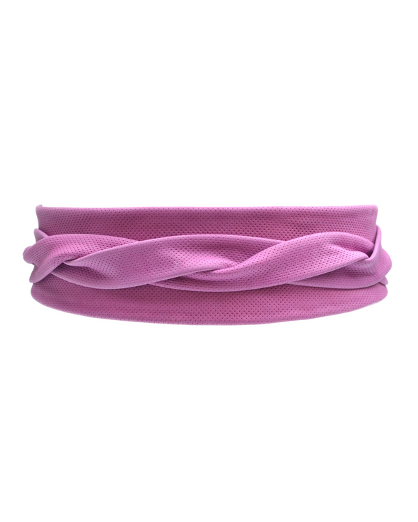 Wrap Belt - Perforated Fuchsia