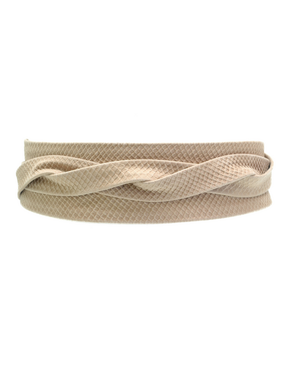 Wrap Belt - Bare Beige