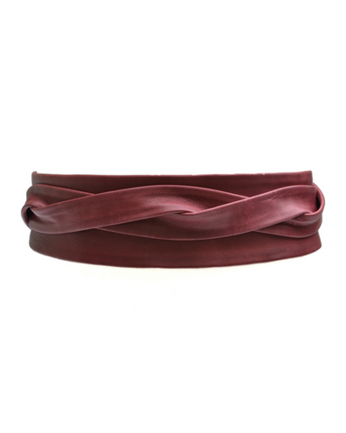 Wrap Belt - Cognac
