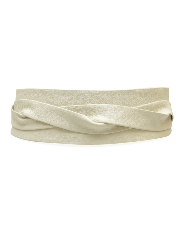 Wrap Belt - Cream