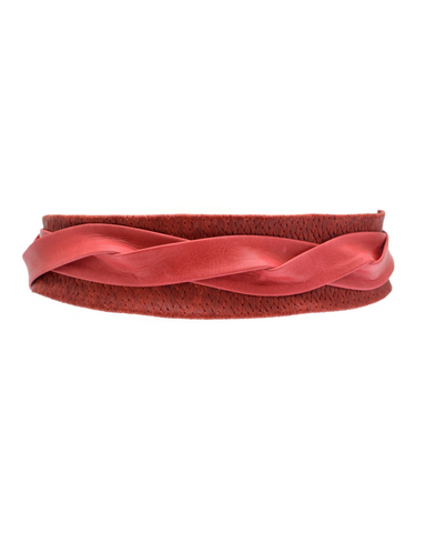 Wrap Belt - Red Woven