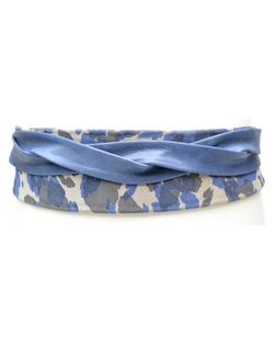 Wrap Belt - Camo Blue