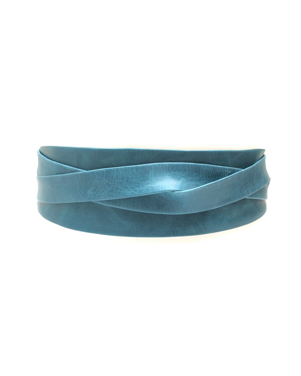 Wrap Belt - Mosaic Blue