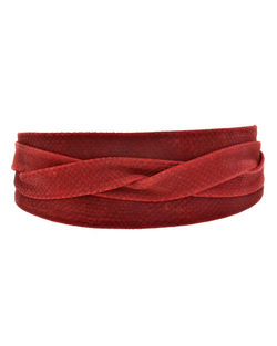 Wrap Belt - Red Python