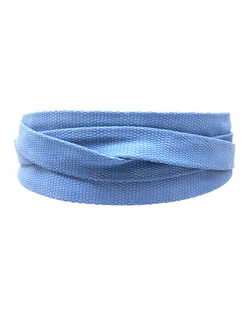 Wrap Belt - French Blue Small Python