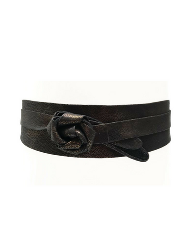 Wrap Belt - Textured Black