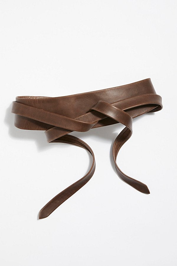 Wrap Belt - Chocolate