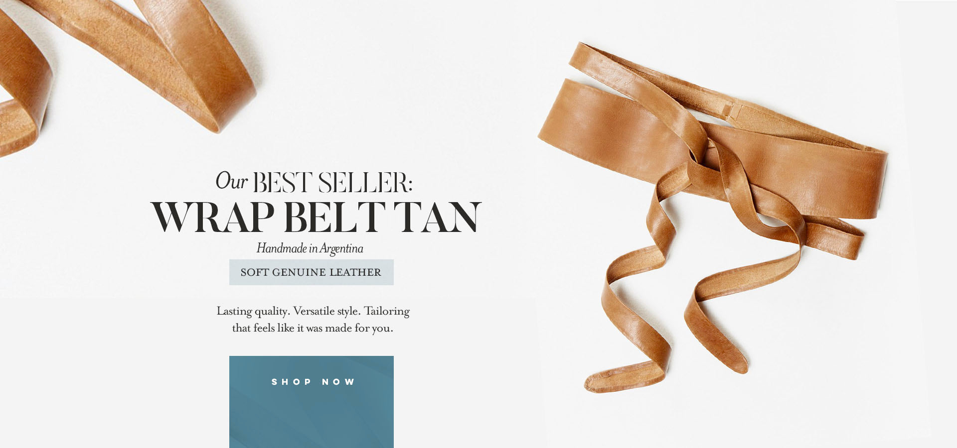 Ada Has a Gift for You | Free belt plus trend report