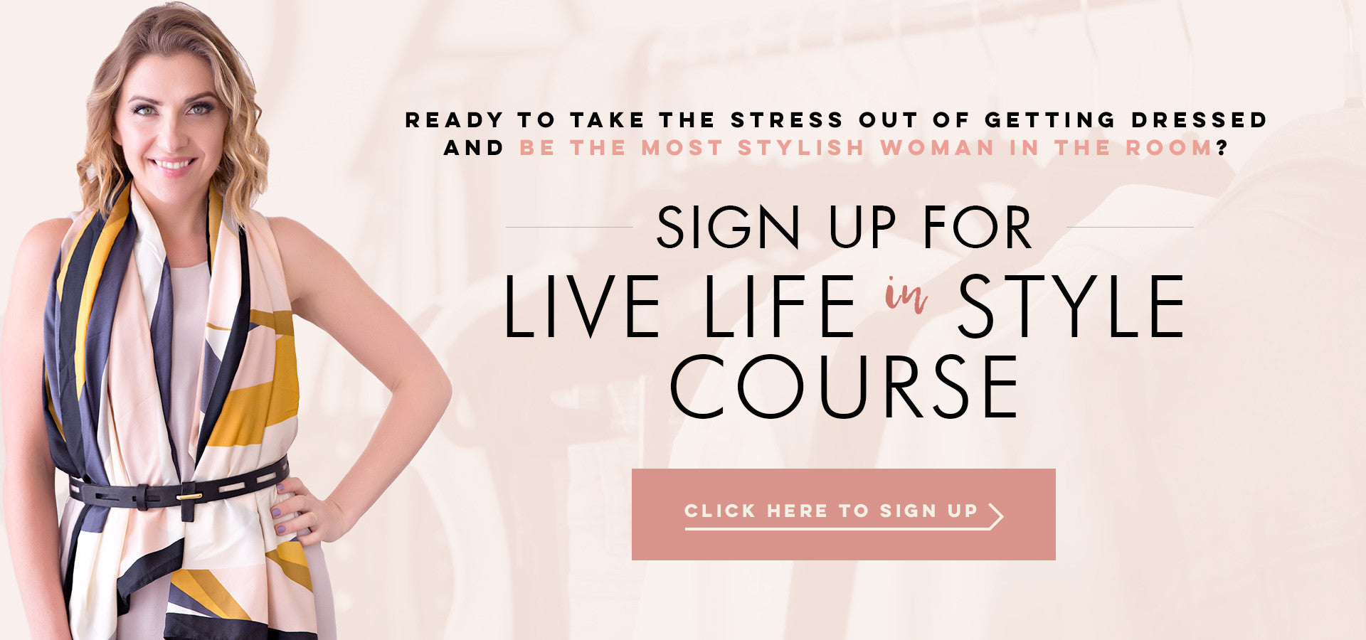 Sign Up for Live Life in Style Course