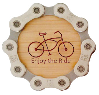Bamboo Fridge Magnet (cruiser) - Case of 6