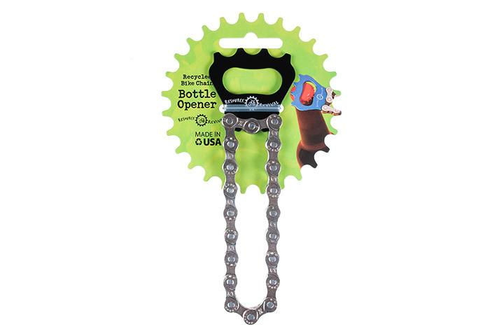 Resource Revival Eco-Friendly Bike Chain Bottle Opener