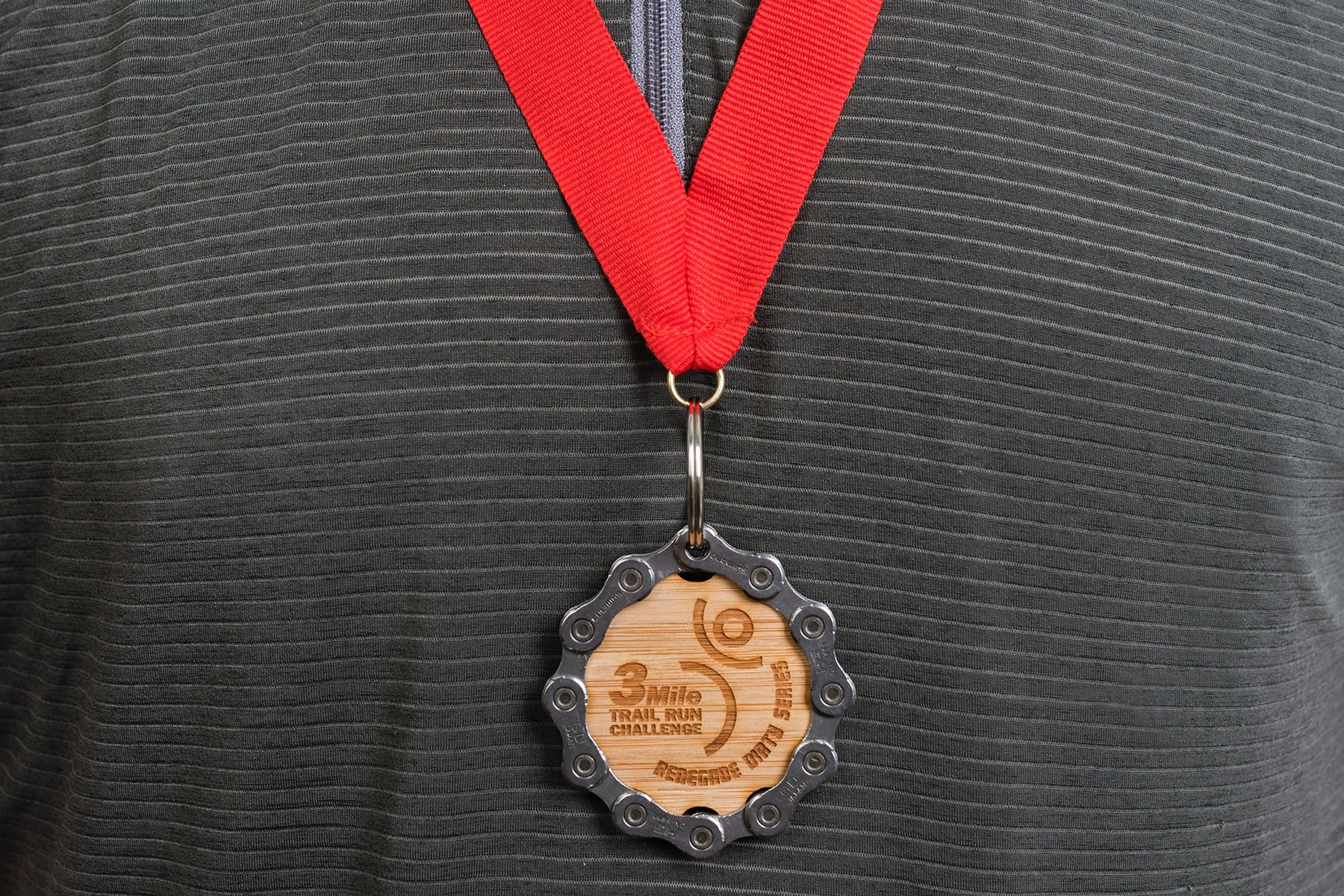 Resource Revival Engraved Bamboo Medal - a great option for budget-conscious rides