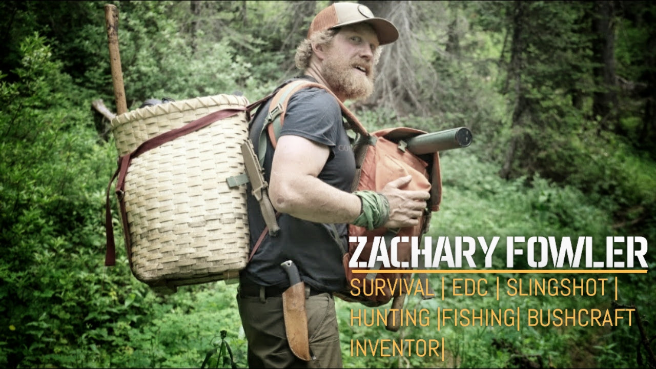 zachary fowler expert bushcraft survival slingshot hunting fishing